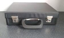 PVC Type  Black Vintage Storage Cassette Tape Holder Holds  Up To 30 Tapes