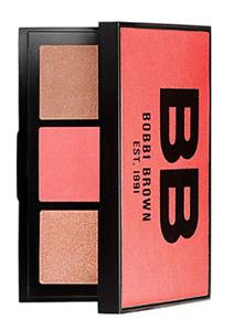 NIB Bobbi Brown Illuminating bronzer, blush and highlight Palette - Peach!
