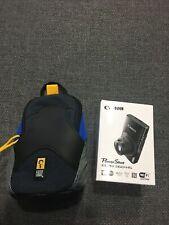 Canon PowerShot ELPH 360 20.2 MP Digital Camera - Silver + BONUS CASE