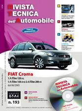 Manuale tecnico di riparazione e manutenzione dell'auto - Fiat Croma