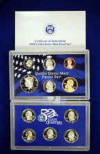 2004-s U.S. Proof Set. Complete and Original in BLUE  mint paper box