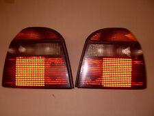 Vw Golf 3 GTI 16v G60 Vr6 Heckleuchten Rückleuchten Rücklichter schwarz rot