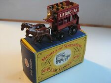 MATCHBOX N°12 HORSE BUS