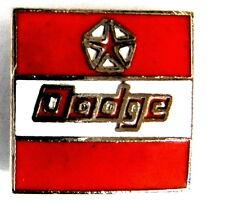 auto ÉPINGLETTE /PINS - chrysler dodge logo [1358]