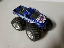 Hot Wheels 1/64 Built Ford Tough Blue Thunder F-350 Super Duty Monster Jam Truck