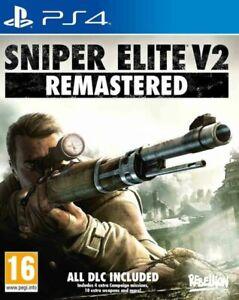 Sniper Elite V2 Remastered PS4 PLAYSTATION BRAND NEW SEALED