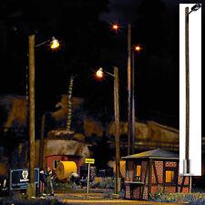 BUSCH HO 4110 Eine Train Station Light Ready-made model. Height: 142 mm. #