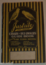 Justrite Pet Foods 1930 Brochure Great Old Ads & Nice Graphics! Nice See!