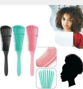Detangling Brush for Curly Hair, Detangler for African American Natural hair