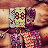 Boho Ethnic Handmade Braided WovenString Cord Friendship Retro Bracelet&Bangle