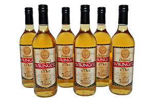 6 Flaschen Original Behn Wikinger Met Honigwein 11,0% Vol., 0,75 Liter