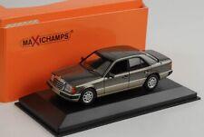Mercedes-Benz 230 E w124 gris métallisé 1991 miniature 1:43 Minichamps maxichamps