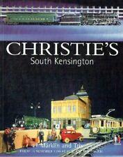 CHRISTIE'S Model Railway Märklin Trains & Accessories Auction Catalog Nov. 1999