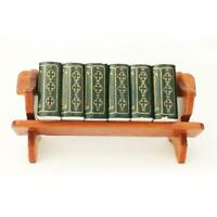 Doll's House  Bookshelf with SIX Books 1:12 for Dollhouse NEW! #