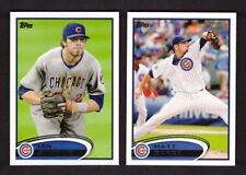 2012 Topps CHICAGO CUBS Team Set w/ Updates 31 Cards Mint