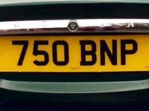 Cherished Registration Number  Private Plate. 750 BNP