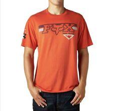 Nueva Camiseta Fox Racing Sangre Naranja Para Hombre Pequeño S bicicleta de montaña MTB DH BMX