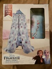 New Disney Frozen 2 Bed Canopy or Cover Play Area Tent Elsa Anna Olaf Printed