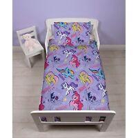NEW My Little Pony Junior Toddler Baby Girls Duvet Quilt Cover & Pillowcase Set