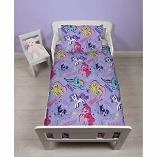 NEW My Little Pony Junior Toddler Baby Girls Duvet Quilt Cover & Pillowcase Set