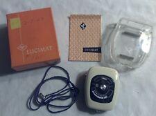 Vintage Afga Lucimat Exposure Meter with Manual and Box