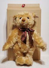"""Steiff Millennium Bear, LE, 670374, Made in 2000, Mohair, 16"""" tall, MIB, No COA"""