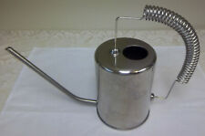 Stainless Steel Watering Pitcher Can Long Spout Spring Handle Potted Plants New