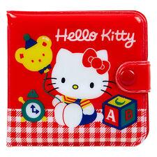 Sanrio Hello Kitty vinyl wallet Purse 9.5 × 1 × 9cm Kawaii F/S NEW retro type