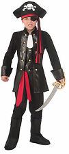 Kids Seven Seas Pirate Costume Caribbean Pirate Child Size Large 12-14