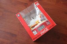 BOXED 1995 COCA-COLA POLAR BEAR ALARM CLOCK.