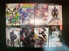 Sam Wilson Captain America 6, 7, 9, - 18 Twelve Issue LOT Marvel Comics Falcon