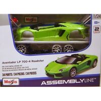 Maisto 1:24 Lamborghini Aventador LP700-4 Assembly DIY Car Diecast MODEL KITS