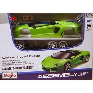 Maisto 1:24 Lamborghini Aventador LP700-4 Assembly DIY Car Diecast MODEL KITS