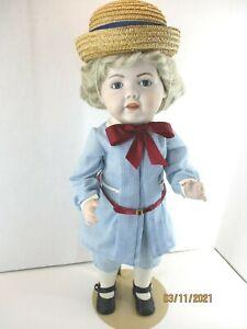 "Reproduction Ges Gesch Hilda JDK N 1070 18"" all porcelain doll  Germany"