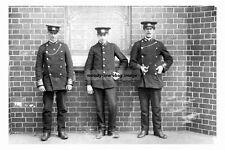 pt2859 - Staff at Queens Road Tram Depot , Manchester , Lancs - photograph 6x4