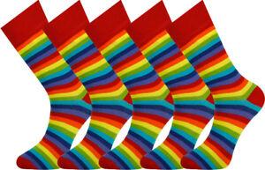 Mysocks 5 Pairs Rainbow Ankle Socks