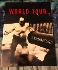 Van Halen Iii 1998 Tour Program (Michael Anthony, Gary Cherone, Extreme, Creed)