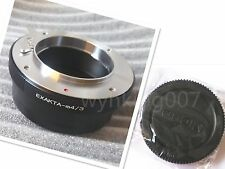 Exakta EXA Mount Lens To Micro 4/3 M4/3 Camera Adapter GF3 EPL3 EPL1 G5 G3 E-PM2