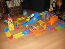 VTech 80-146700 Go! Go! Smart Wheels Train Station Playset Pretend Play w/Extras