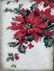 Sid Dickens Memory Block Poinsettia T497 Holiday 2019 Tile New Retired
