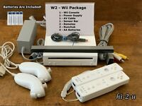 Nintendo Wii Console System + Gamecube Compatible, 6+1 Games + Quick Free Ship
