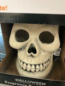 Skull FRAGRANCE Wax Warmer Bar Melts Halloween Melt Plug-in Skeleton Goth Jumbo