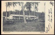 Koelieloodsen, Sabang, Indonesia. 1907 Vintage Postcard. Free Post