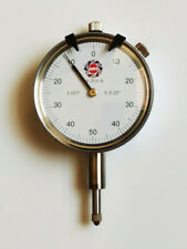 High Precision Dial Indicator 025 0001 Graduation Agd 2 Flat Amp Lug Backs
