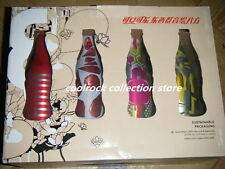 2008 China coca cola WE8 aluminium bottles box set empty