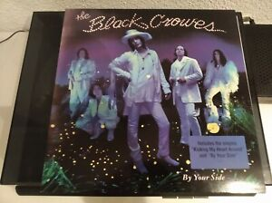 THE BLACK CROWES BY YOUR SIDE LP UNOFFICIAL BLUE VINYL