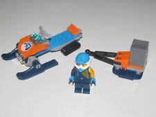 Lego ® City Minifig Figurine Explorateur Arctique + Moto et Remorque NEW