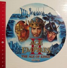 Aufkleber/Sticker A4: Age of Empires 2 The Age of Kings (140416186)