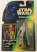 Star Wars HAN SOLO ENDOR POTF Power Of The Force Action Figure BRAND NEW ROTJ