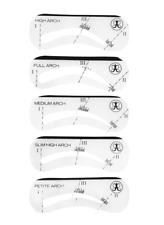 Authentic & New!! ABH Anastasia Beverly Hills Eyebrow Stencil Brow Set 5 Piece A